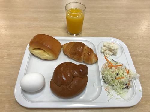 グレイスイン名古屋の無料朝食