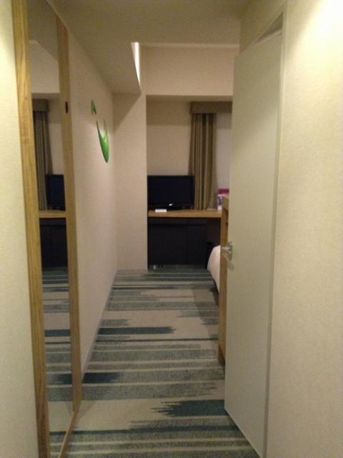 ホテルサンルート有明に宿泊した 〜室内の様子など〜