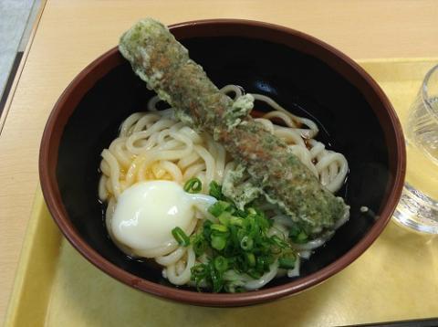 豊浜SA 千登世(Chitose)オリジナル「ぶったまうどん」を食べた