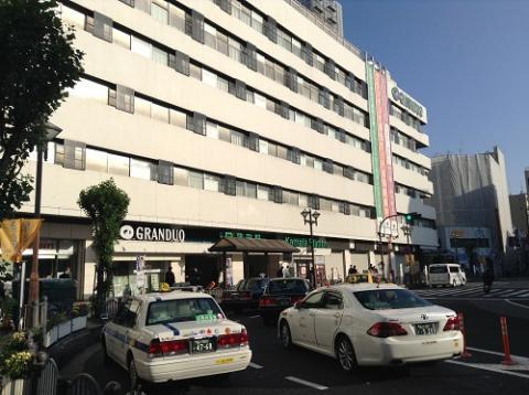 JR蒲田駅東口からJR新橋駅まで移動する