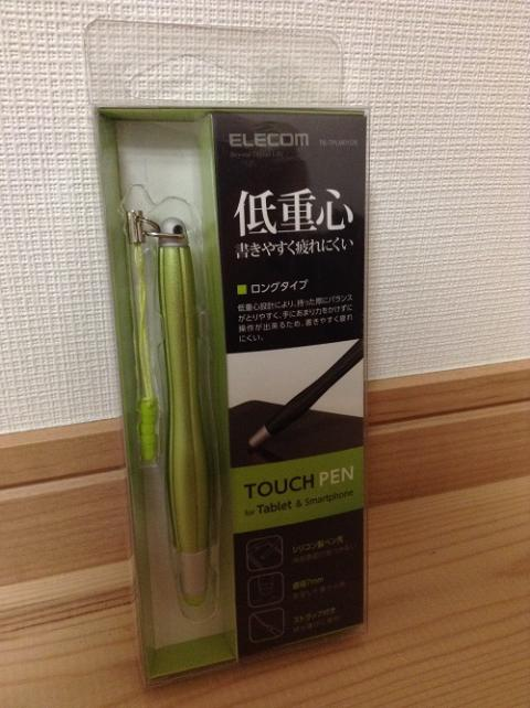 ELECOM「TOUCH PEN for Tablet & Smartphone TB-TPLM01GN」を購入した