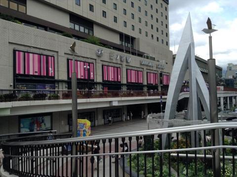 JR三ノ宮駅からJR四国バス松山支点まで高速バスで移動した