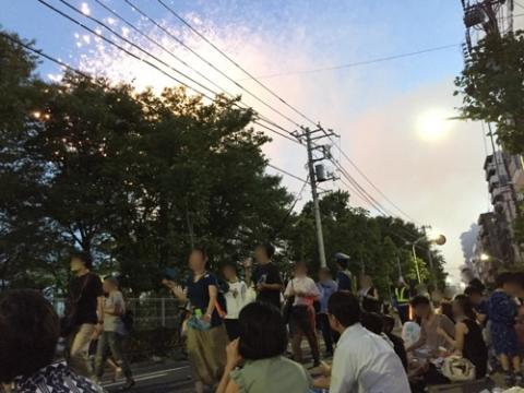平成28年 第39回隅田川花火大会を観た感想