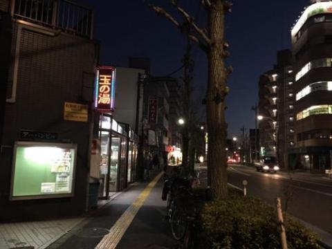 綾瀬駅から徒歩9分の銭湯・玉の湯に入った感想
