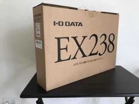 ミニスーファミで遊ぶためにI-O DATAの23.8型液晶ディスプレイを購入した