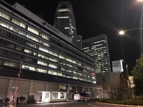 夜行バスで東京から松山余戸南インターまで移動-西東京バスを利用
