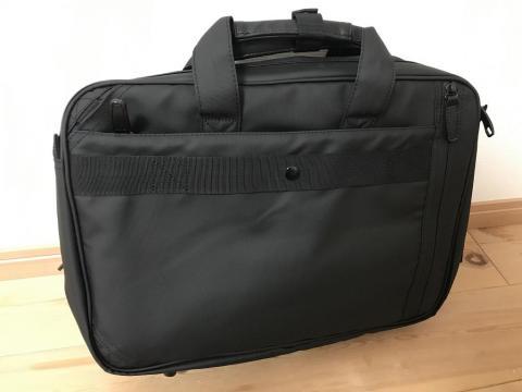 VORQITの防水ビジネスバッグを使用した感想