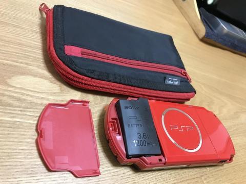 PSPのバッテリーが膨張して壊れたので互換バッテリーを購入した