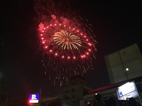 平成28年 第39回隅田川花火大会 綺麗に見える花火