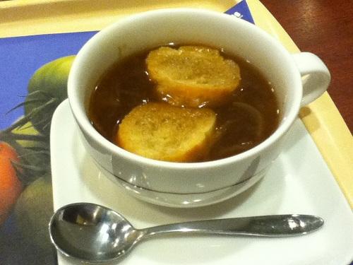 モスバーガーのオニオンスープ