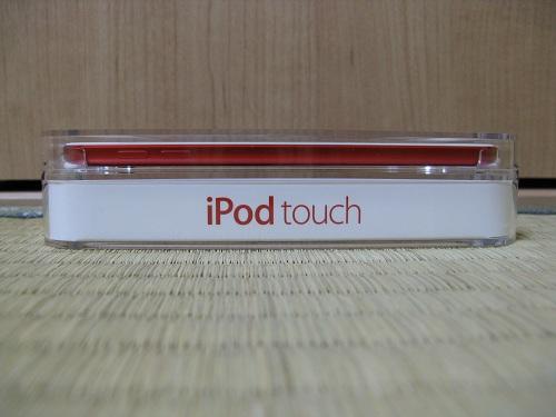 刻印入りiPod touch 32GB - (PRODUCT) REDの写真……iPod Touchの上部