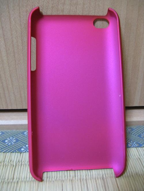 iPod touch(第4世代)用の保護ケース(moshi iGlaze 4 ホットピンク)(内側面)