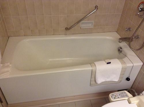 ヨコハマ グランド インターコンチネンタル ホテルの浴室内(浴槽)