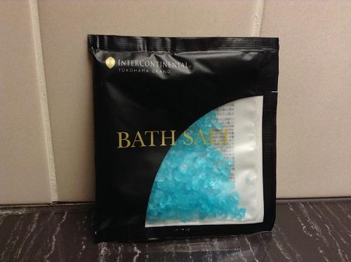 ヨコハマ グランド インターコンチネンタル ホテルの入浴剤「BATH SALT」(バスソルト)(製造販売元:株式会社ペリカン石鹸)