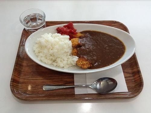 羽田空港第2ターミナルのカレー屋さん(「ANA FESTA 59番ゲート フードショップ」)で注文したカツカレー