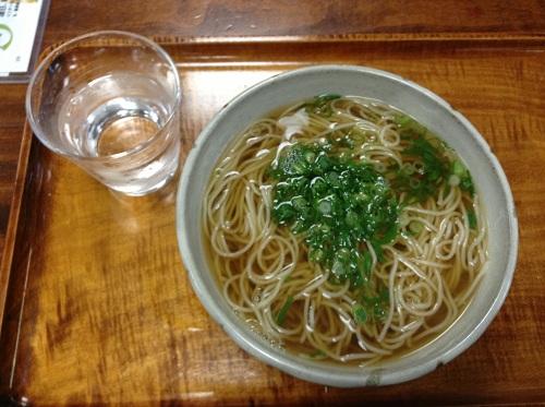 萩の茶屋(愛媛県新居浜市繁本町7-8)の「かけそば」