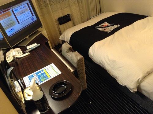 アパヴィラホテル 仙台駅五橋の室内