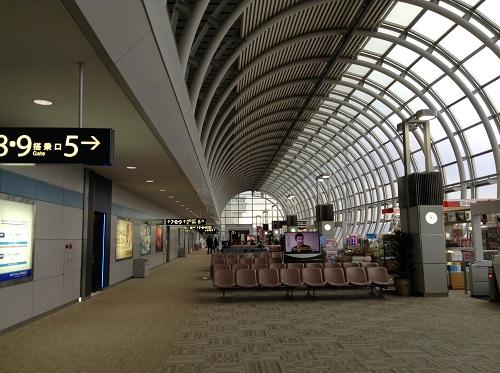 仙台空港の待合室