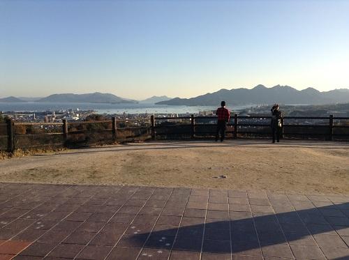 宮島サービスエリア(下り線)から眺めた風景