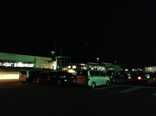 壇之浦パーキングエリア(下り線)の駐車場
