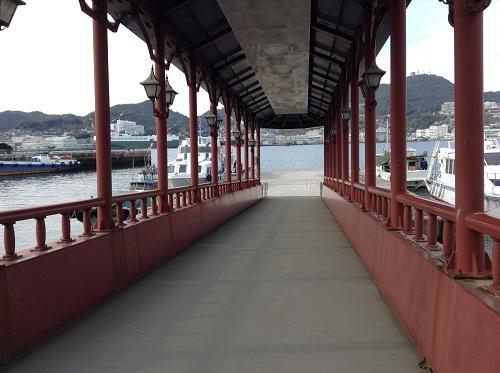 常盤ターミナルの桟橋