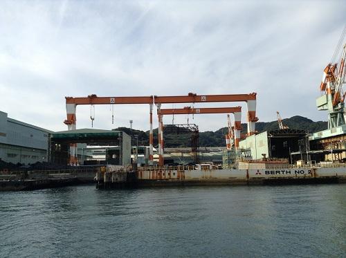 三菱重工業長崎造船所 BERTH NO 2