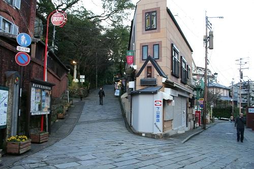 長崎県長崎市・グラバー通りから続くグラバー園への入口