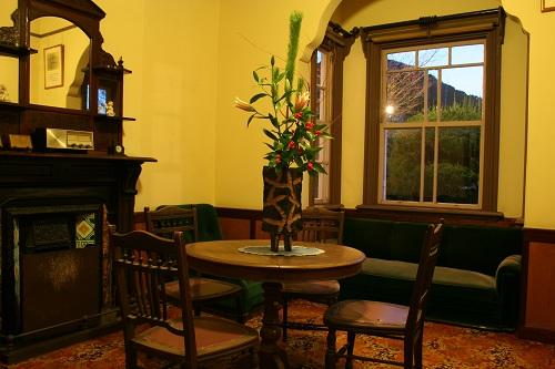 グラバー園・旧ウォーカー住宅室内の食堂