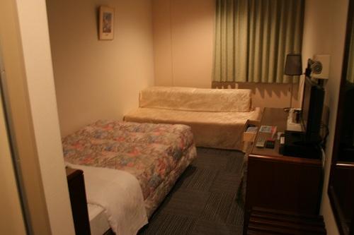 レオプラザホテル佐世保のシングルルーム(禁煙)の室内