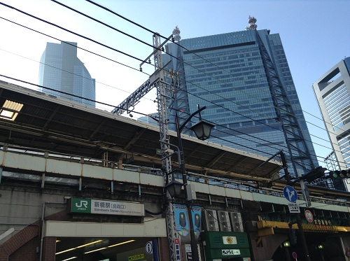 JR新橋駅(東京都港区新橋2丁目) 烏森口