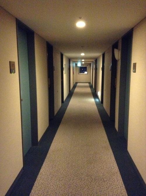 横浜桜木町ワシントンホテル(神奈川県横浜市中区桜木町1-101-1)の廊下