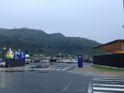 道の駅・みなとオアシス⼋幡浜「みなっと」(愛媛県八幡浜市沖新田1581番地23)の入口