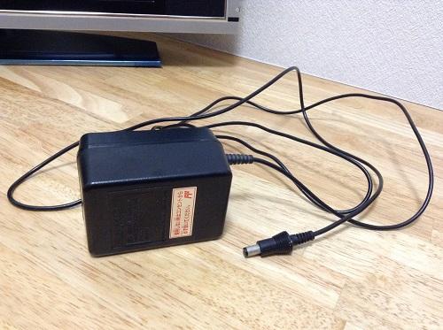 家庭用カセット式ビデオゲーム FAMILY COMPUTER ファミリー コンピュータ ファミコンのAC ADAPTER(アダプタ)