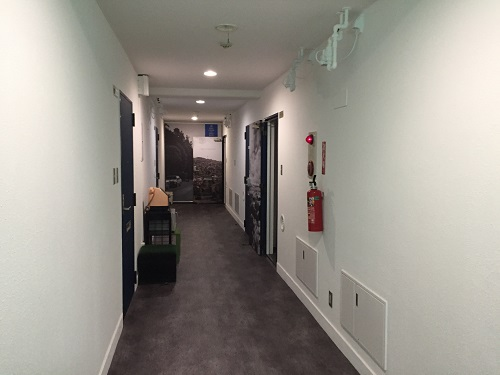 ホテルリッチ(広島県広島市安佐北区可部2-36-1)の屋内(3階廊下)
