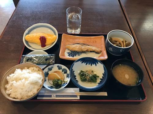 ホテルウェリィスミヨシの朝食(和食)