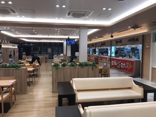 豊浜サービスエリアの食堂