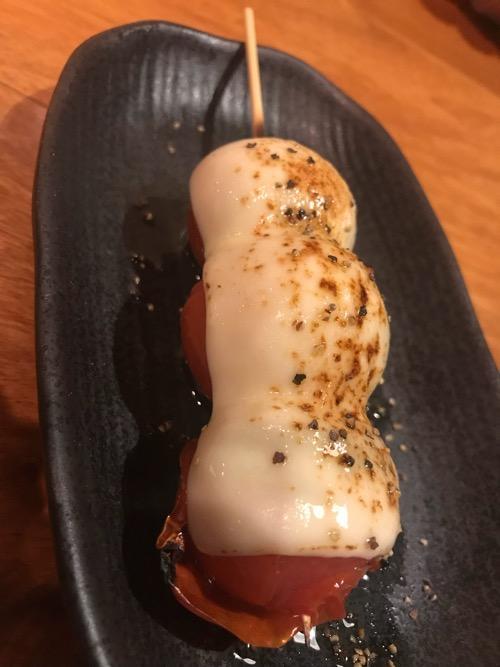 炭焼トリコの串(トマト) 1本