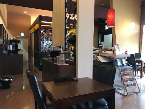 ホテルウェリィスミヨシの食堂