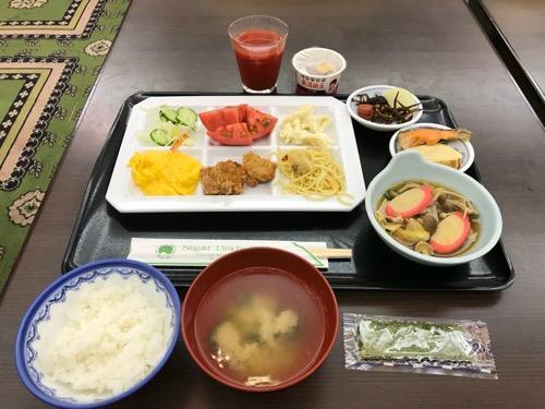 新潟第一ホテルの朝食(和洋朝食バイキング)