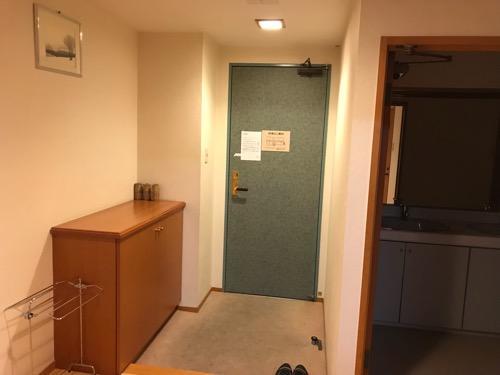 飛騨古川スペランツァホテルの和室タイプの客室の玄関