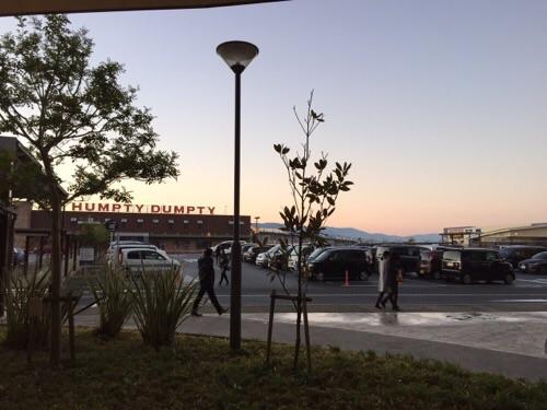 エミフルMASAKIの駐車場(2016年1月1日午前7時11分)