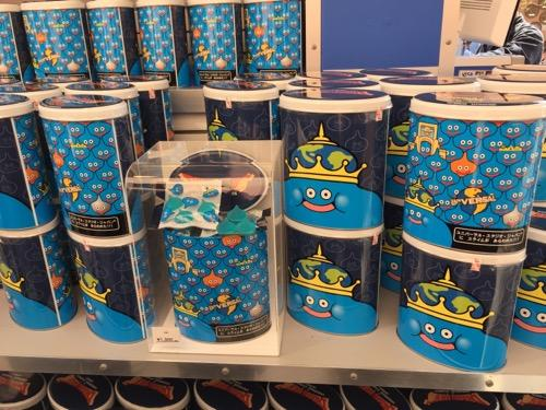 USJ・ドラゴンクエスト・ザ・リアルのお土産ショップのスライムグミの缶