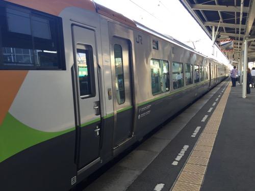 しおかぜ12号4号車(自由席)の客車