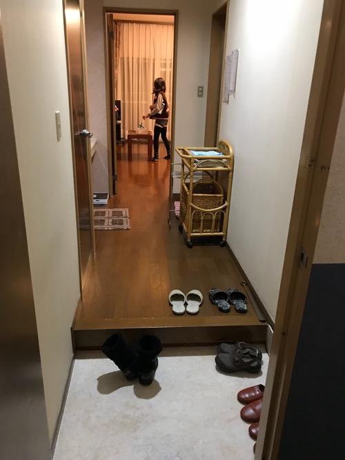 星乃岡温泉 千湯館 家族風呂・宿泊用の部屋「石の湯 305号室」の玄関