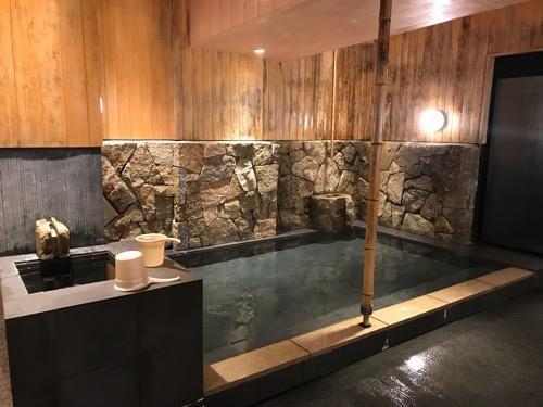 エクストールイン西条駅前「うちぬきの湯」男湯のお風呂