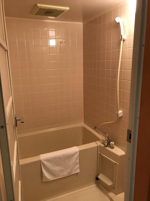 飛騨古川スペランツァホテルの和室タイプの客室の浴室
