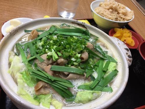 四国大名のもつ鍋野菜うどん