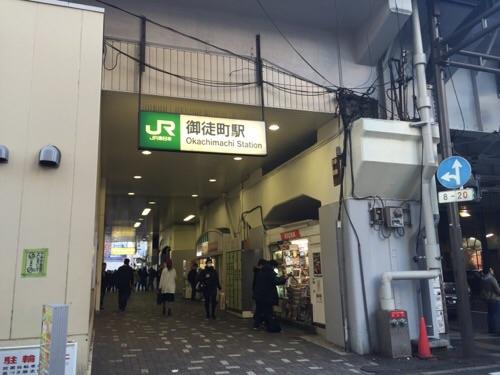 JR御徒町駅の高架下の入り口