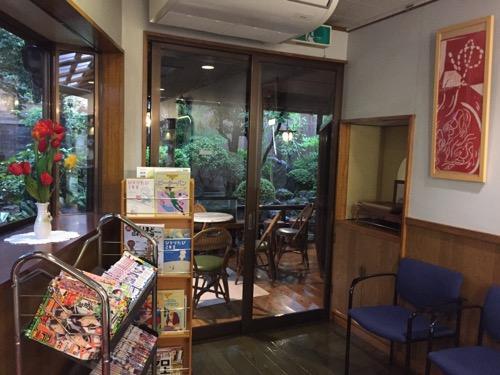 東京都足立区の銭湯・タカラ湯の休憩スペース