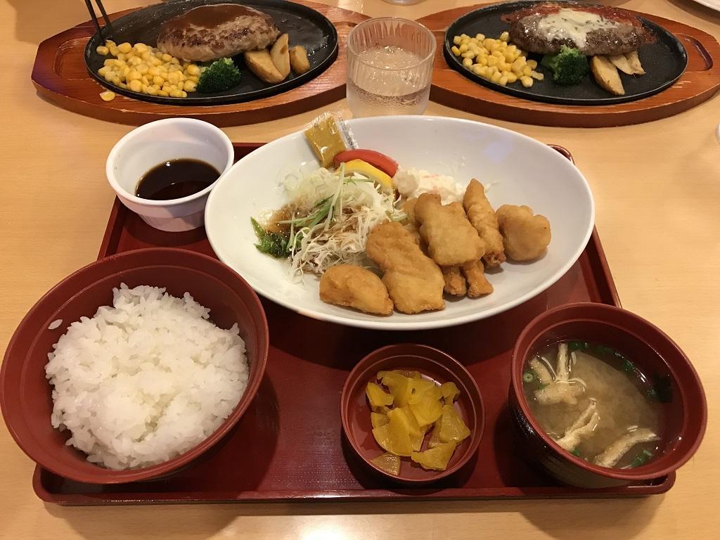 ジョイフル 愛媛南大洲店のとり天定食